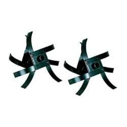 Dvouřadé nože pro rotavátor